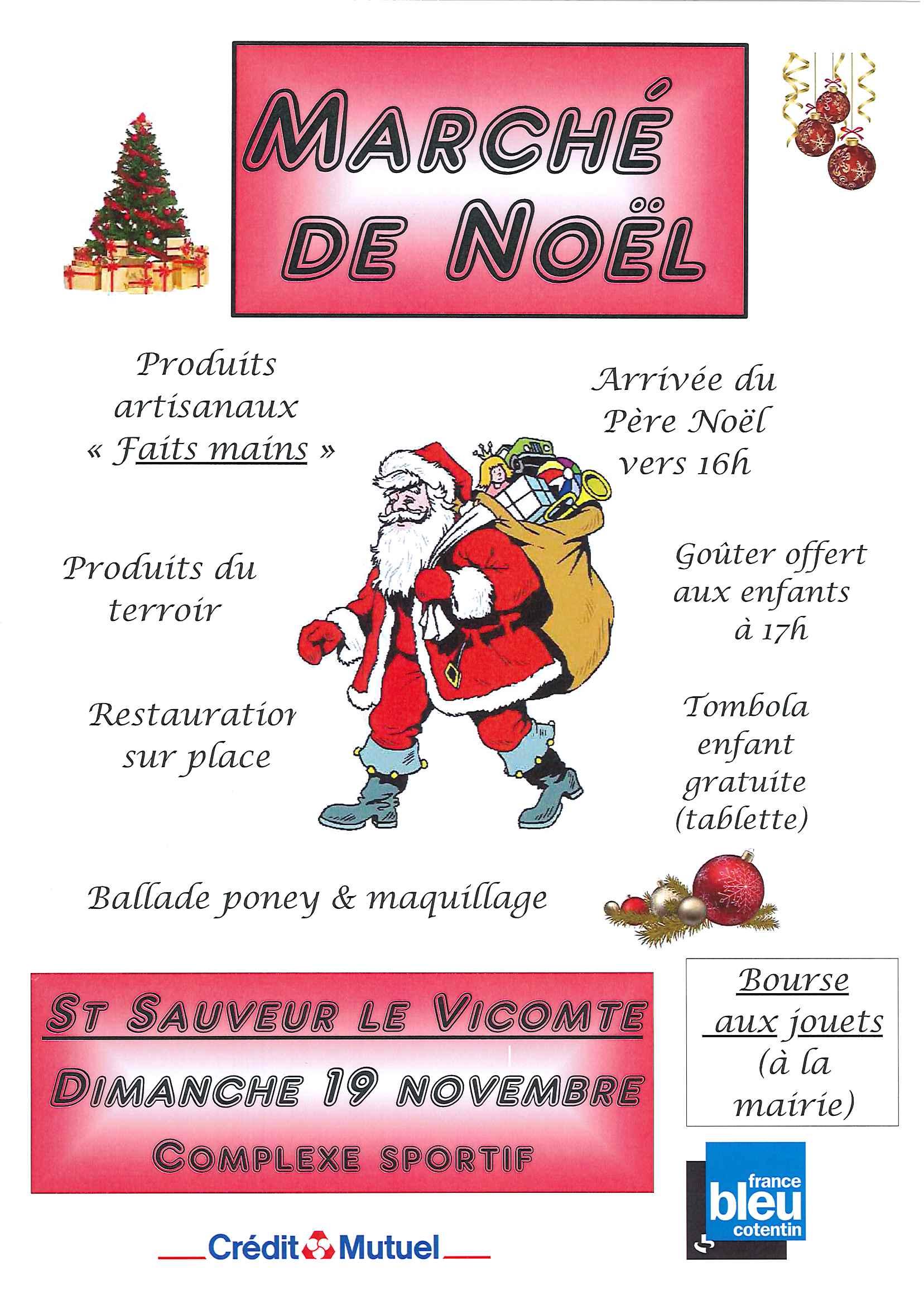 Marche de noel 2017 mairie de saint sauveur le vicomte - Piscine saint sauveur le vicomte ...