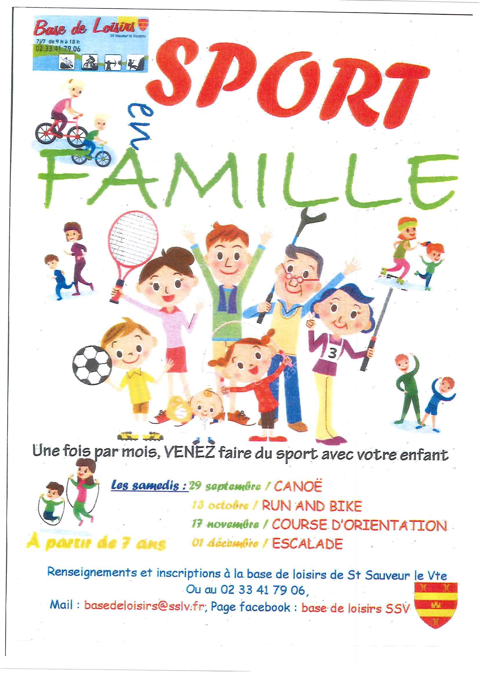 Sport en famille mairie de saint sauveur le vicomte - Piscine saint sauveur le vicomte ...