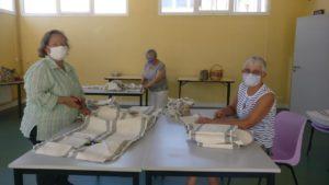 Distribution masques lavables à la population