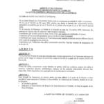 Nouvel arrêté portant décisions dans le cadre de la lutte contre la propagation de la COVID-19