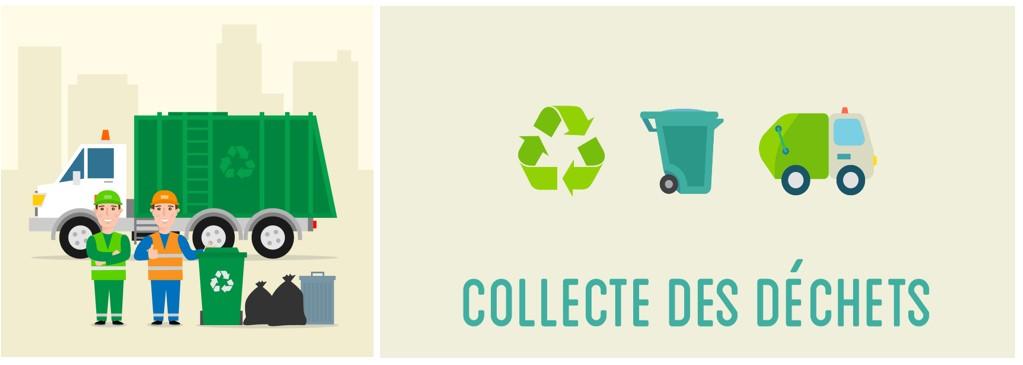 Organisation des collectes des ordures ménagères du lundi 24 mai 2021