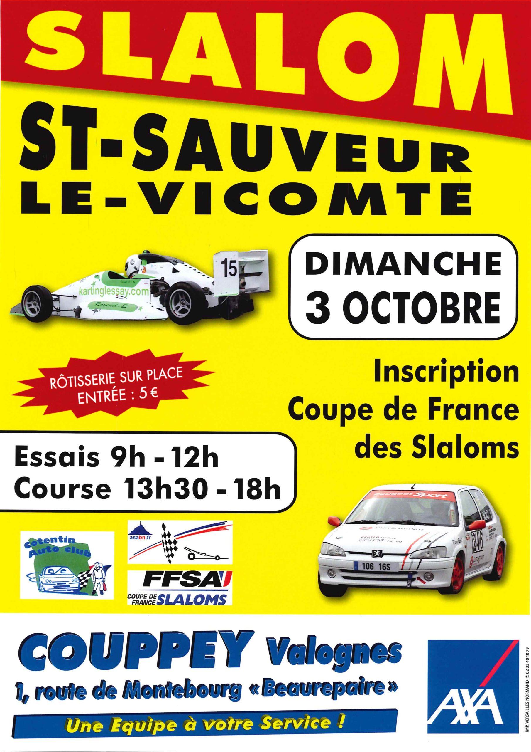 Slalom Automobile