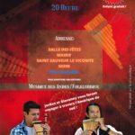 Concert – 30 octobre 2021 à la Salle des fêtes de Saint-Sauveur-Le-Vicomte